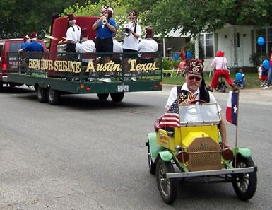 Ben Hur Parade Cars
